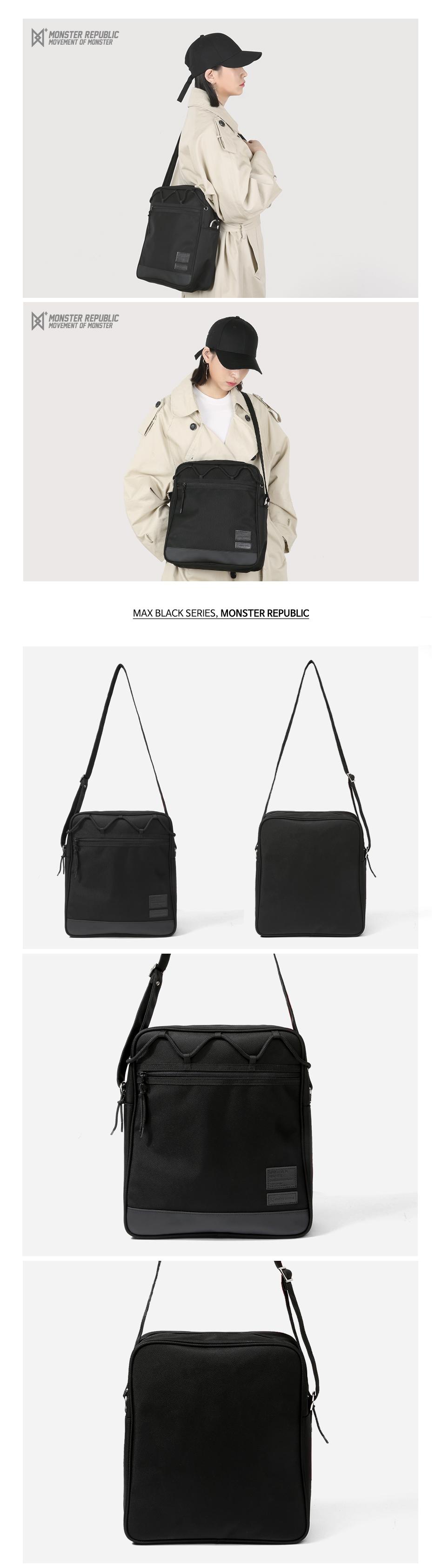 [사은품 증정] MAX BLACK CROSS BAG #001