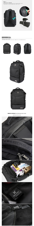 [사은품 증정] DIFFERESSIVE REWIND MULTI BAG / BLACK