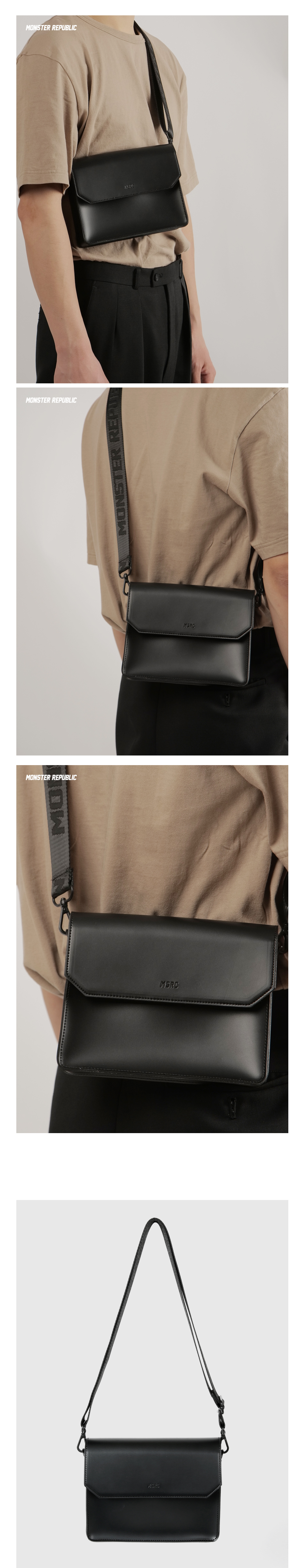 [사은품 증정] MSRC 005 MINI BAG / BLACK