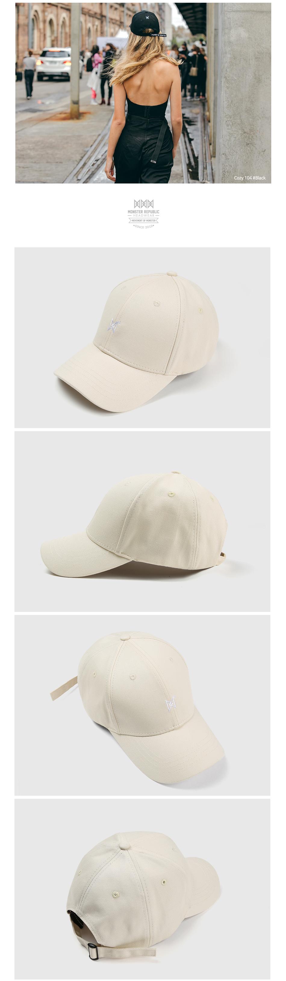 [몬스터 리퍼블릭] COZY 101 BALL CAP / IVORY