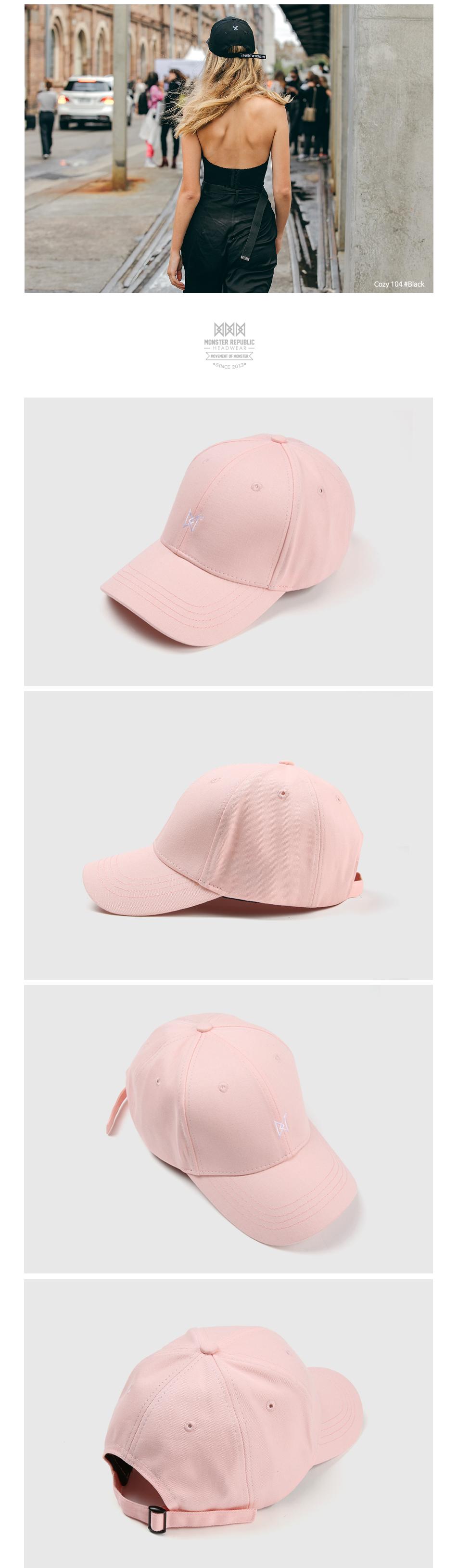 [몬스터 리퍼블릭] COZY 101 BALL CAP / PINK