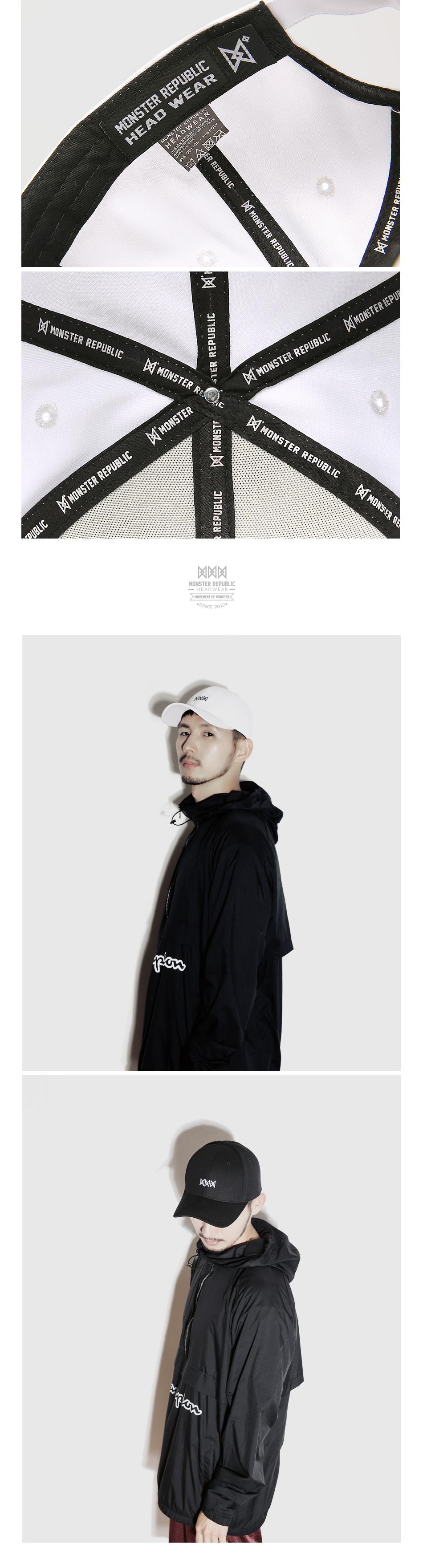 [몬스터 리퍼블릭] COZY 102 BALL CAP / WHITE