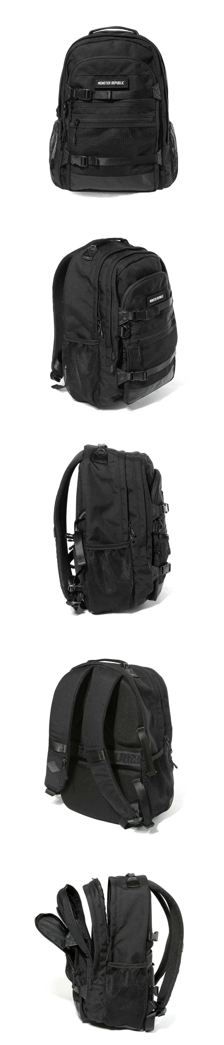 [사은품 증정] EXCEEDING 3D BACKPACK / BLACK