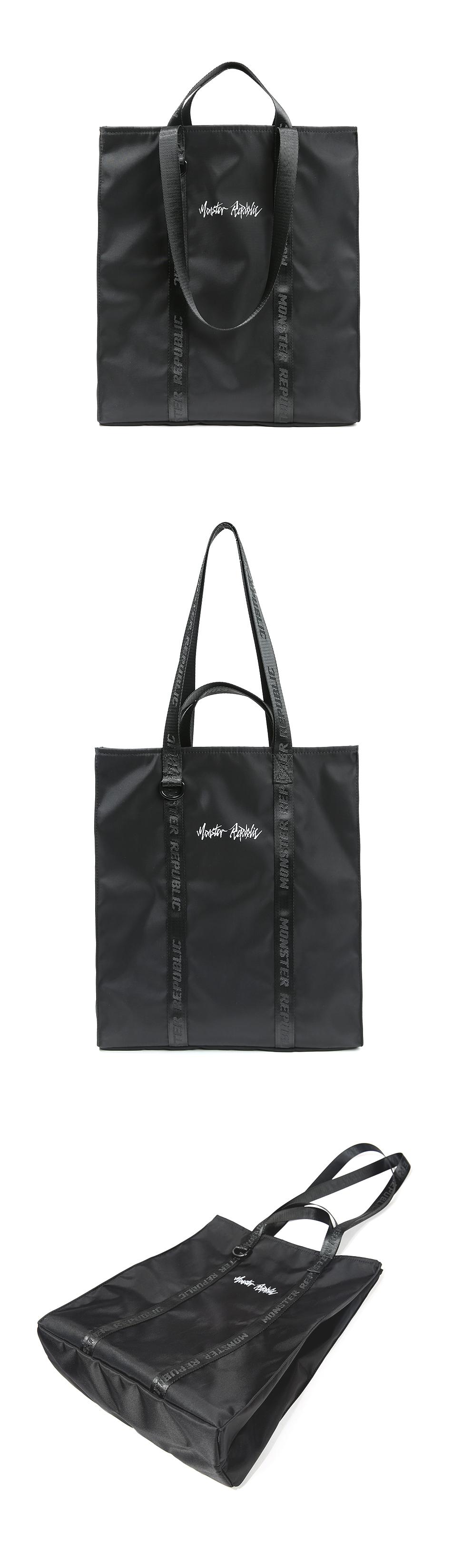 [사은품 증정] MOVEMENT LOGO TOTE BAG - SMALL / BLACK